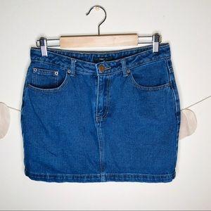 🔥forever21 denim mini skirt jean skirt bottom